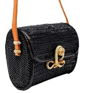 Gorgeous woven messenger bag